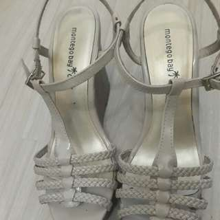 Wedge Shoes (cream color)