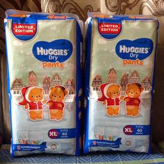 Huggies XL 40's (Limited Edition)