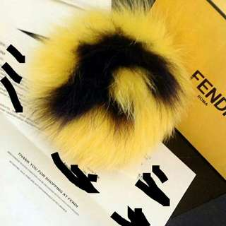Authentic Fendi F Furball charm *Clearance