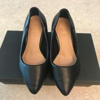 Black DMK Working Heels Size 35