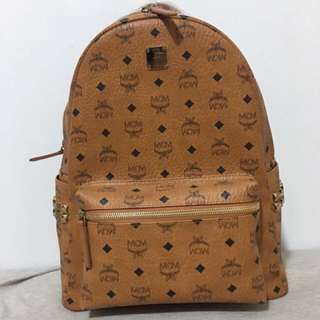 Authentic MCM Backpack Large