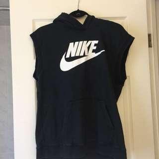 Sleeveless Nike Hoodie