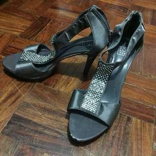 So Fab Gray Heels