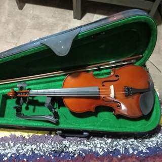 4/4 Craftman Maple wood Violin with hand-painted galaxy print case