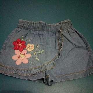 Rok Celana Jeans Anak Size 0-6 M