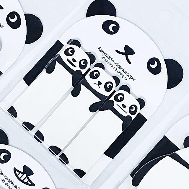 3 Pandas Post its