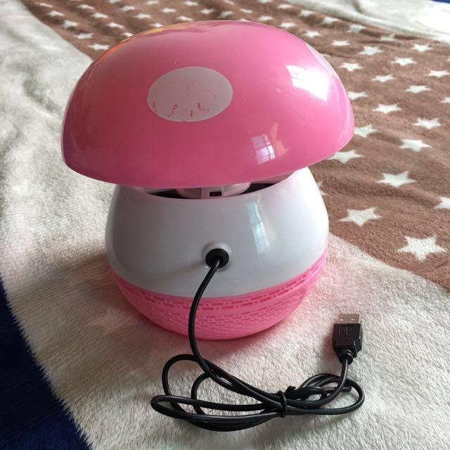 7-11/全家免運 USB光觸媒吸入式捕蚊燈~粉紅色 #幫你省運費