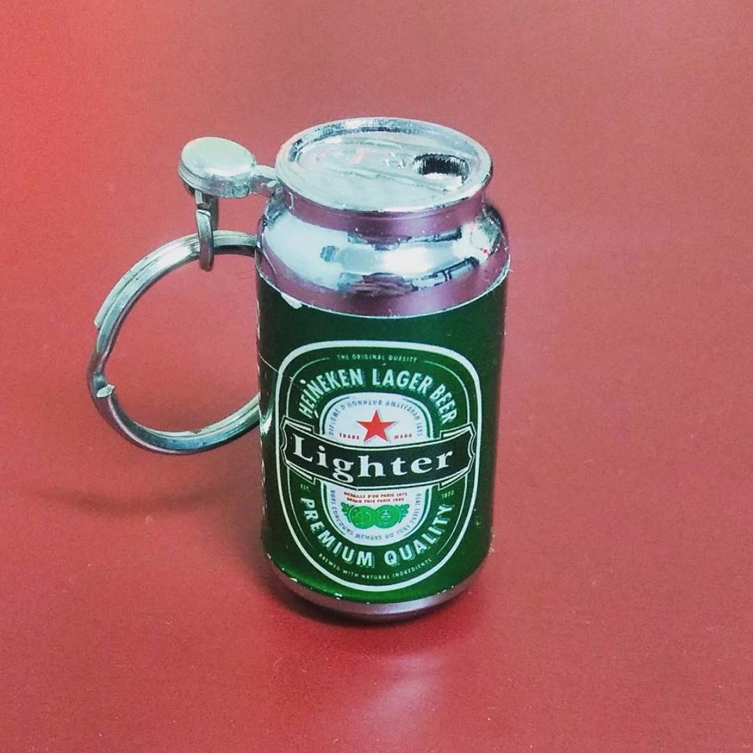 全新海尼根啤酒罐造型打火機