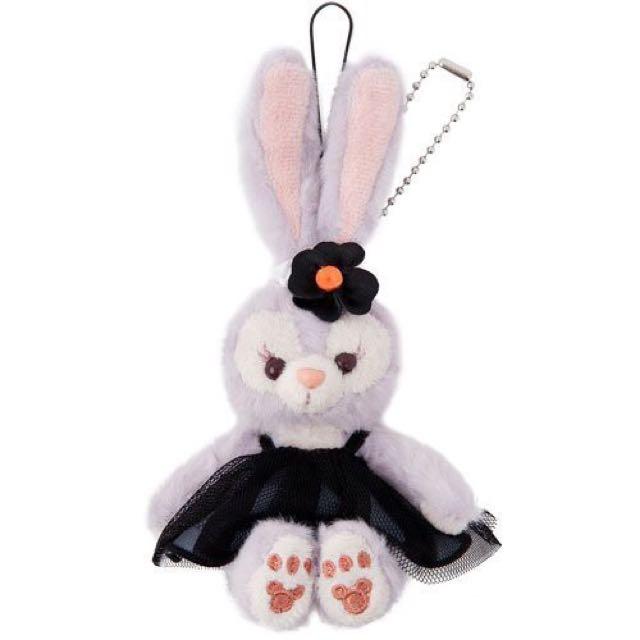東京迪士尼萬聖節限定史黛拉兔坐姿吊飾