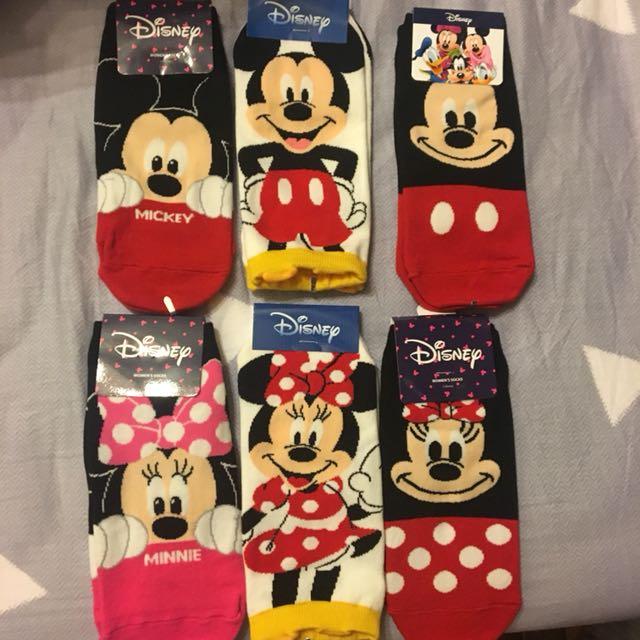 韓國帶回全新迪士尼襪子🧦