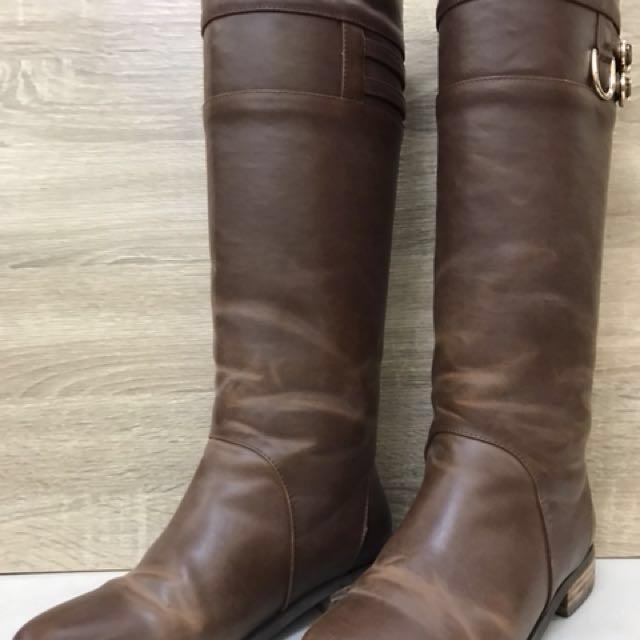 二手長靴 尺寸23(無鞋盒)