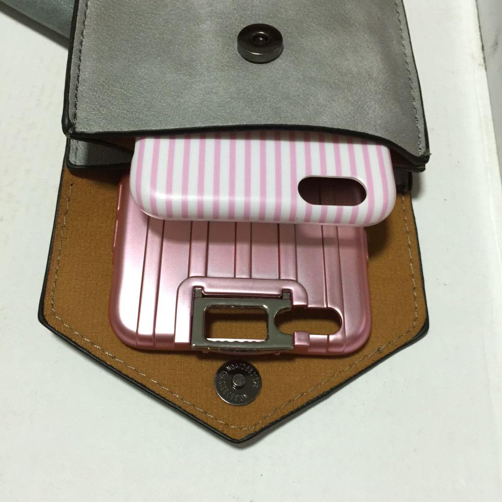簡約漸層側背手機包 小背包