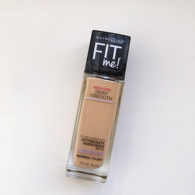 💜 Maybelline New York Fitme! Dewy + Smooth Foundation, Shade 225