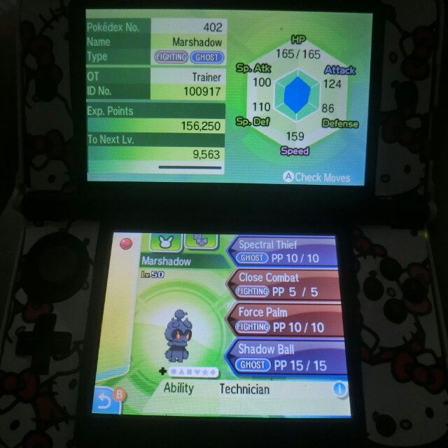 untouched event pokemon * powersaves ultra sun ultra moon