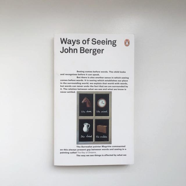 💜 Ways of Seeing by John Berger