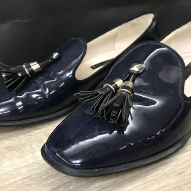 二手 Zara 樂福鞋 尺寸36