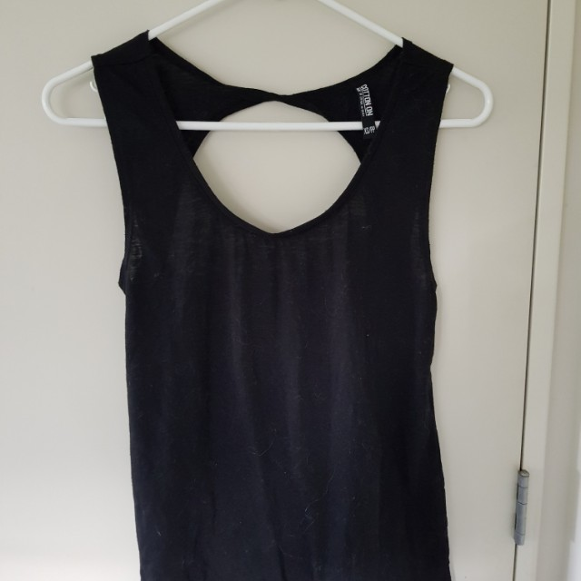 Activewear singlet / Open back