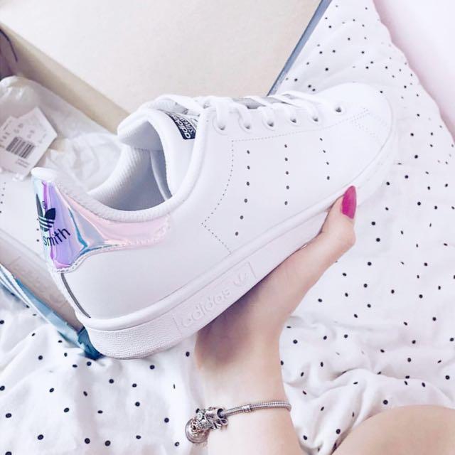 Adidas Stan Smith White Hologram Iridescent 💕