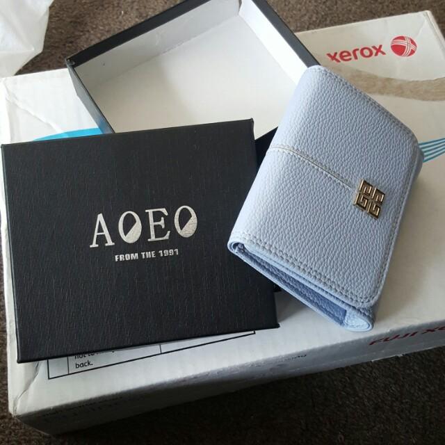 AOEO Tiffany blue wallet