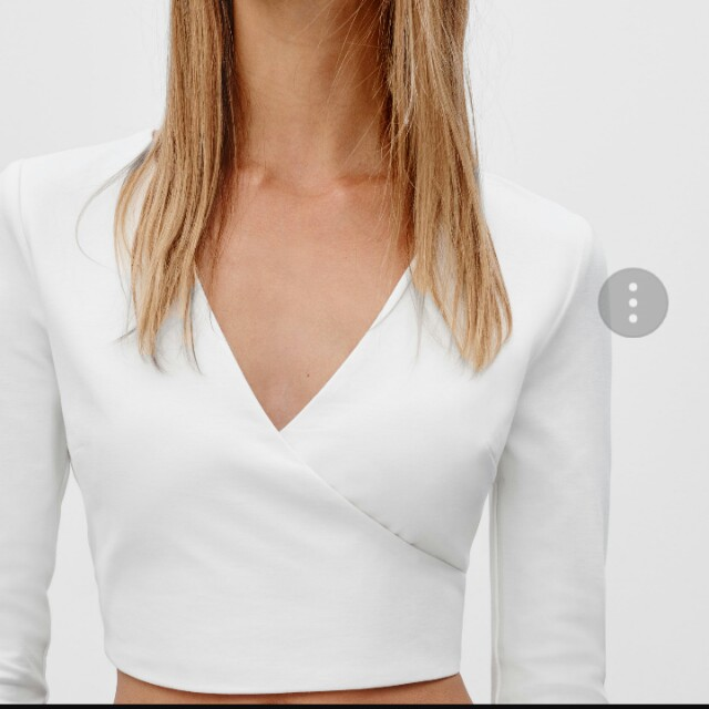Aritzia: Talula Devonia Crop Top in CLOVER NWT