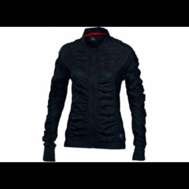Asics Women Ay Rouched Running Jacket