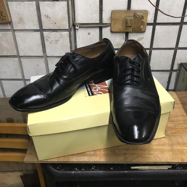 Aso 小牛皮鞋(男)尺寸7.5/25.5 1800
