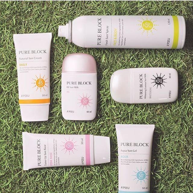 Authentic A'pieu Pure Block Daily Sunscreen
