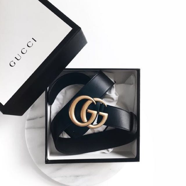 AUTHENTIC GUCCI BELT - COMES WITH BOX, DUST BAG AND PROOF OF PURCHASE