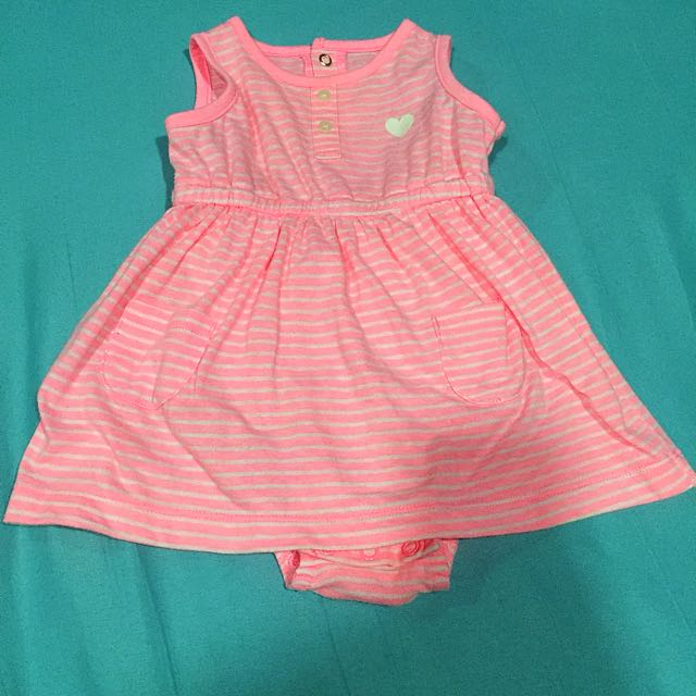 Baby Dress (Carters, 9mos, used once good as new, bought in USA)