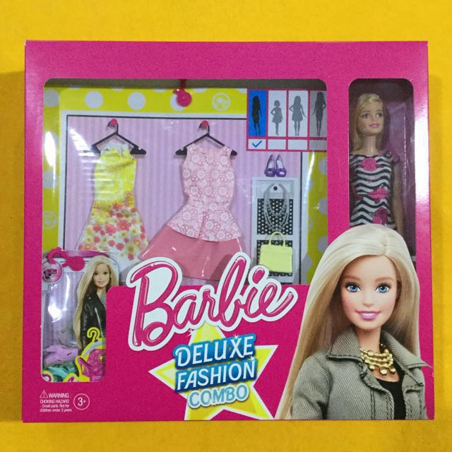 Barbie Deluxe Fashion Combo