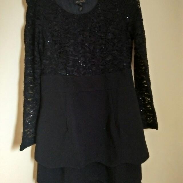 Black Dress (bisa dipake pesta)