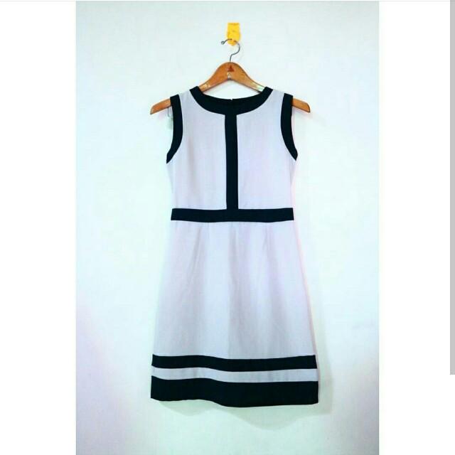 Block Midi Dress