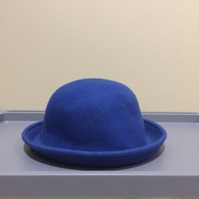 Blue Bowl Hat