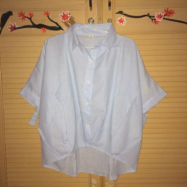 Blue Stripe Shirt (Kemeja)