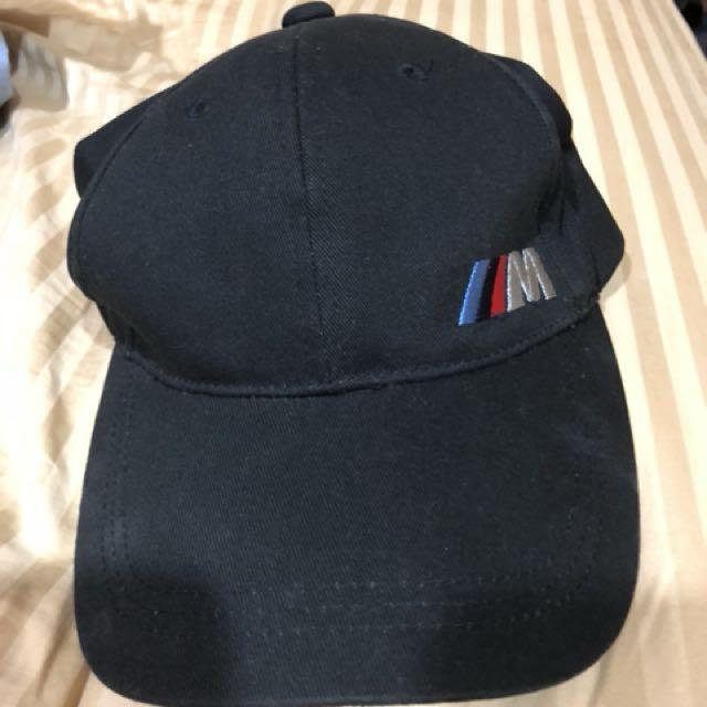 BMW M logo 全新正品 黑色素帽