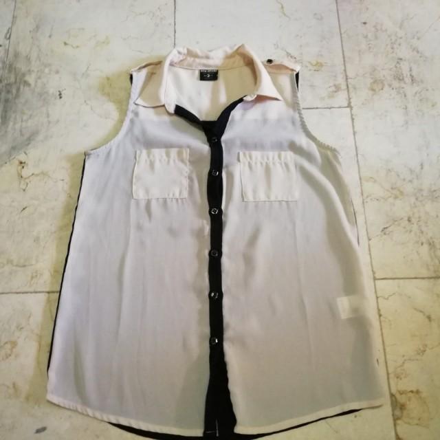 BNY sleveless blouse