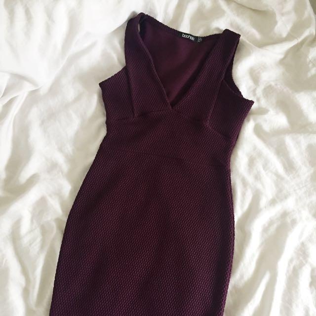 Boohoo Purple Dress