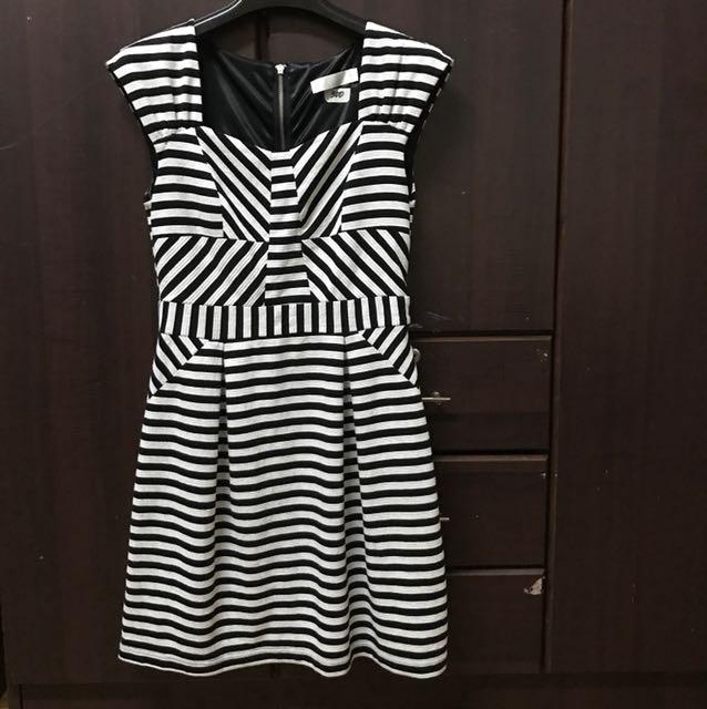 BYSI black & white dress