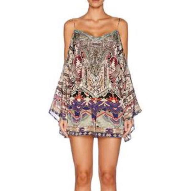 Camilla Playsuit With Wings