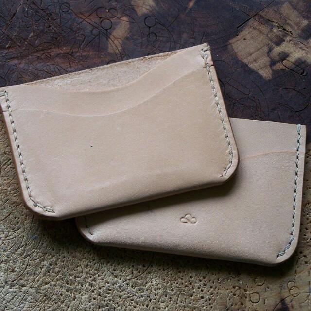 Card holder leather craft