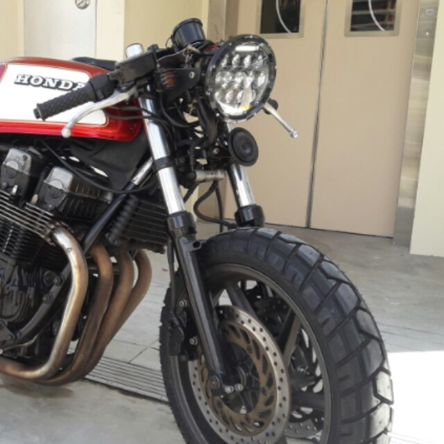 CB750 fork and triple