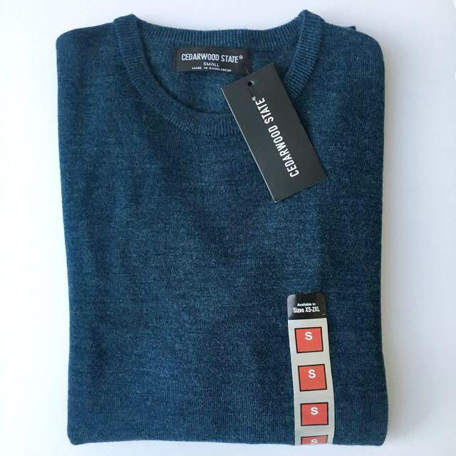 Cedarwood State Blue Sweatshirt / Pullover