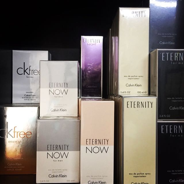 CK Authentic US Tester Perfumes