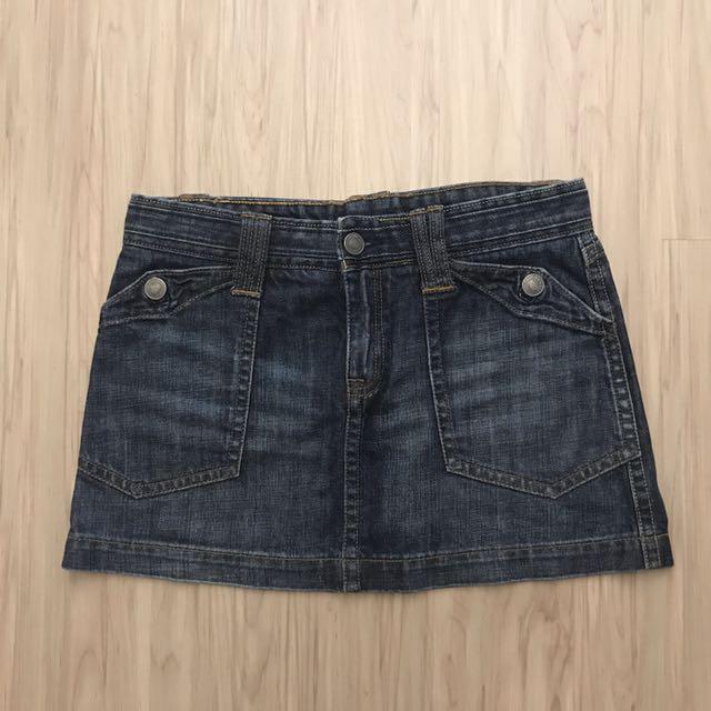 Club Monaco牛仔短裙29腰
