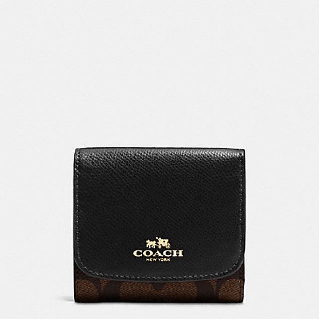 d42c13c43918 COACH SMALL WALLET IN SIGNATURE