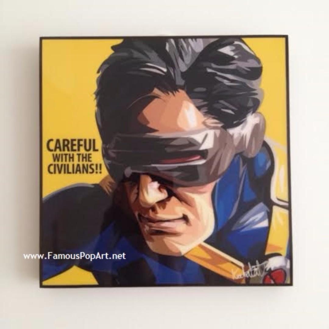 Cyclops PopArt! Portrait Wall Decoration Pop Art