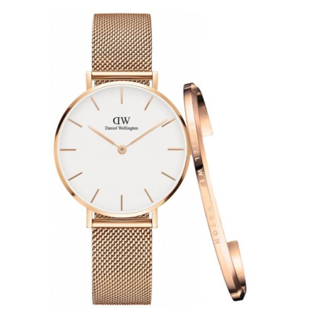 616953aa6f74 Daniel Wellington Classic Petite Melrose (White OR Black) 32mm AND ...