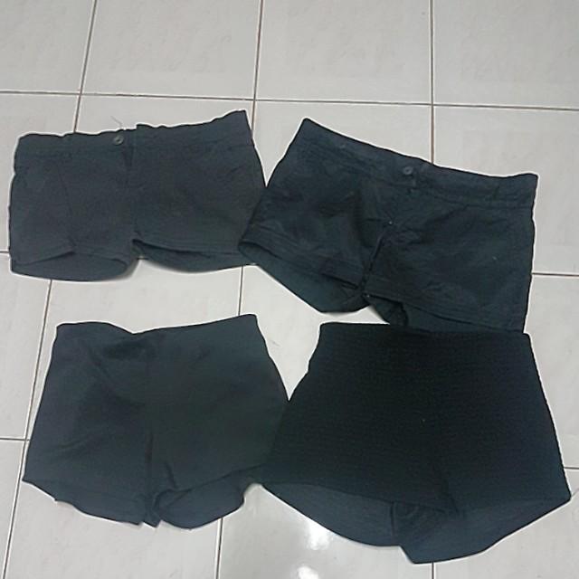 Dark shorts Bundle - 4