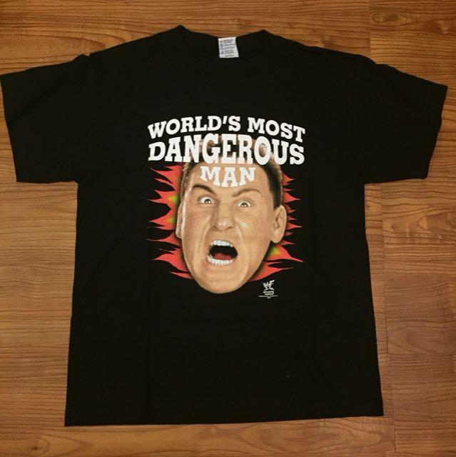 Deadstock Vintage WWF Ken Shamrock T Shirt