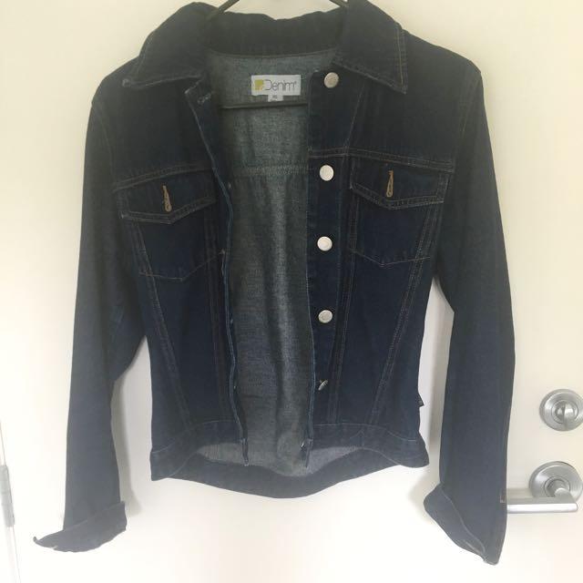 Denim jacket (crop)